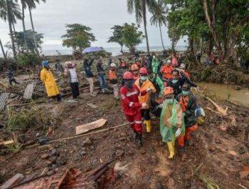 印尼海啸遇难人数升至429人