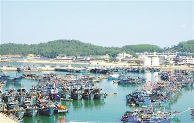改革开放40年 漳州东山岛渔船经历跨越式蝶变