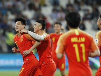 中国队3比0战胜菲律宾队 提前小组出线