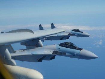 中国空军苏-35战斗机又一波猛照来了!
