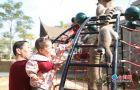 多种珍稀灵长类动物安居厦门集美 春节期间将与游客见面