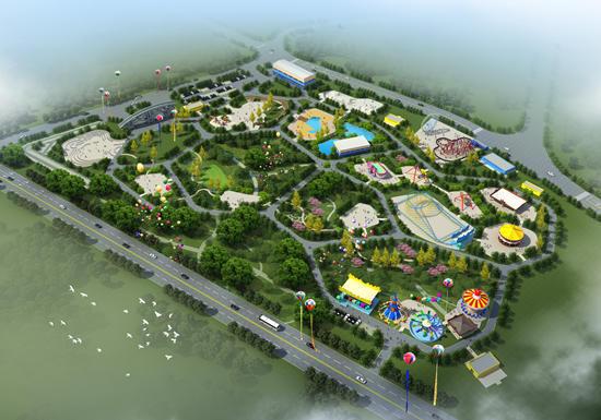 福州市儿童公园游乐园整体更新改造施工启动