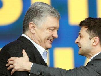 乌克兰喜剧演员和现任总统正面交锋