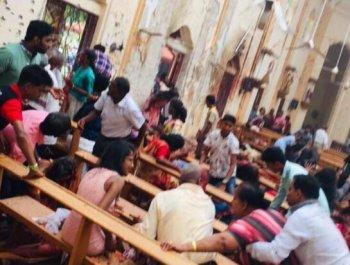 斯里兰卡发生六起爆炸 已致上百人死