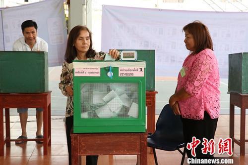 泰国国会今选举新总理 新未来党党魁塔纳通对决巴育