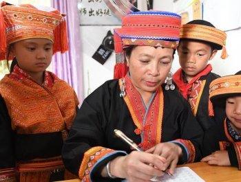 乡村教师陶凤英:大山里35年的坚守