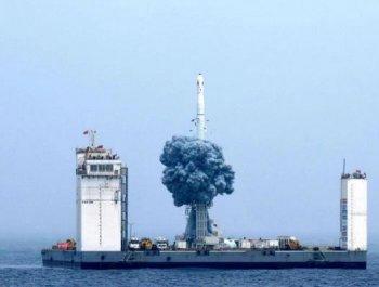 世界級的成功!中國運載火箭海上發射
