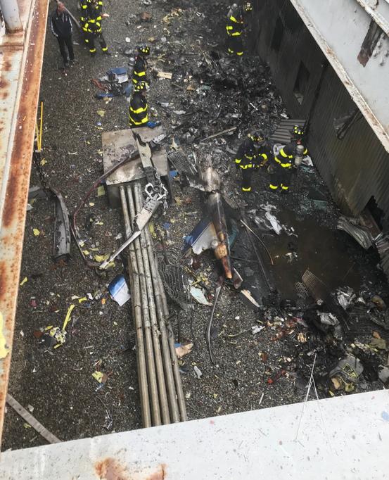 911重现?直升机坠毁纽约办公楼顶,惊动特朗普