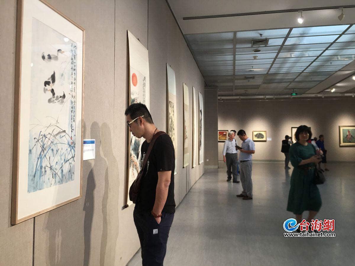 慶祝新中國成立70周年,福清、思明、詔安三地美術書法作品聯展今天開幕