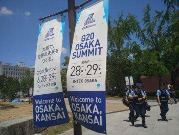 習主席出席G20領導人大阪峰會