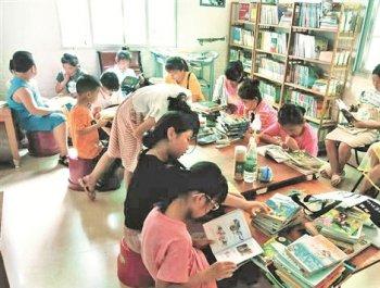 惠安小學老師自辦共享書屋