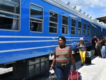 中国快三列车在古巴正式运行