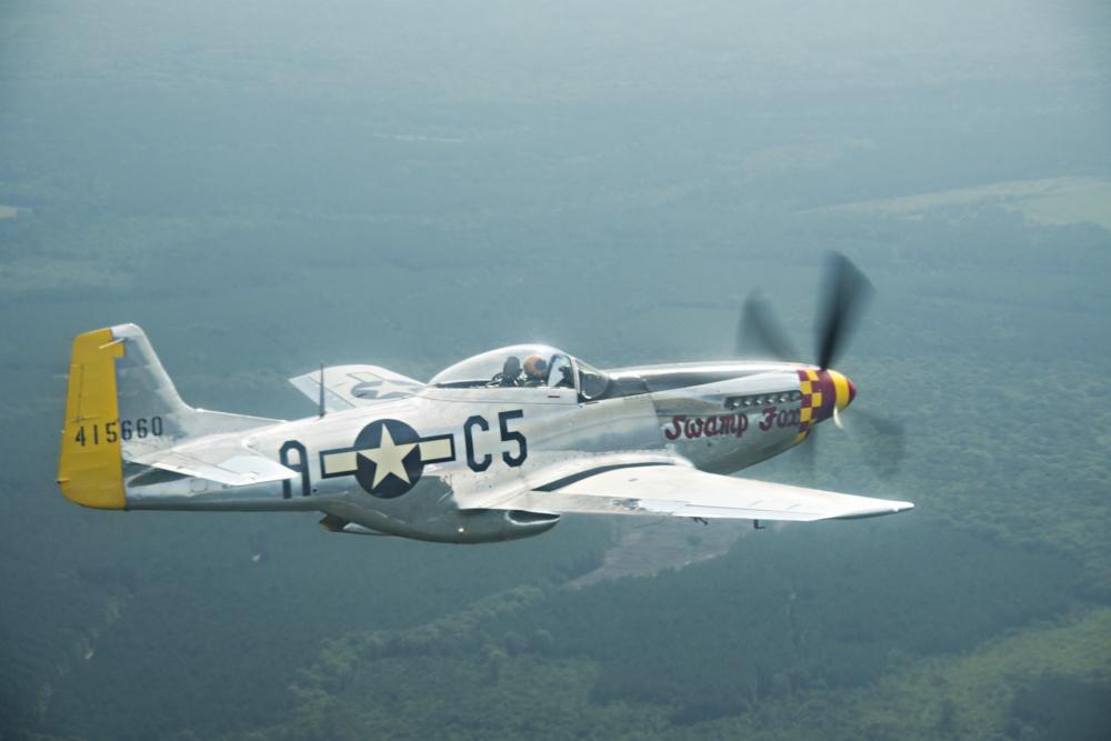 美军二战名机四川雅江森林火灾 现在还能飞