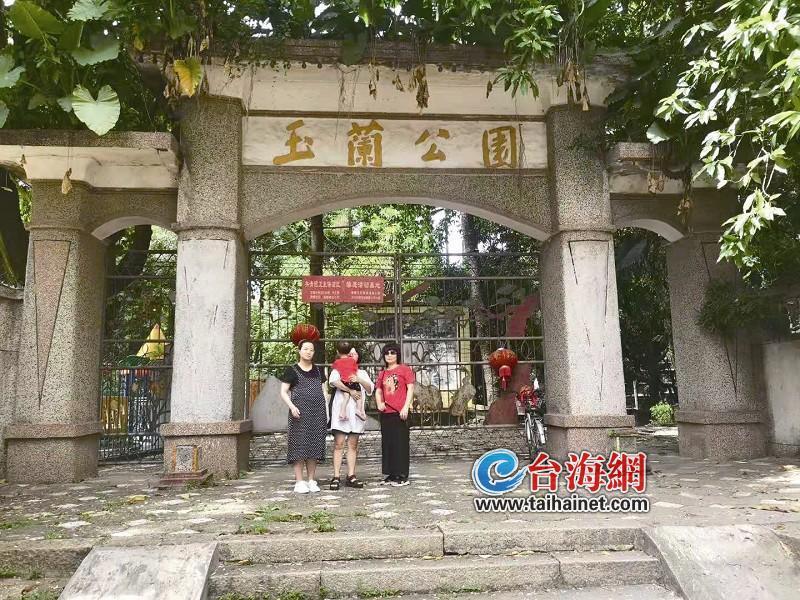 每块石头都印满童年的足迹 网友留言希望漳州玉兰公园能恢复往日光彩