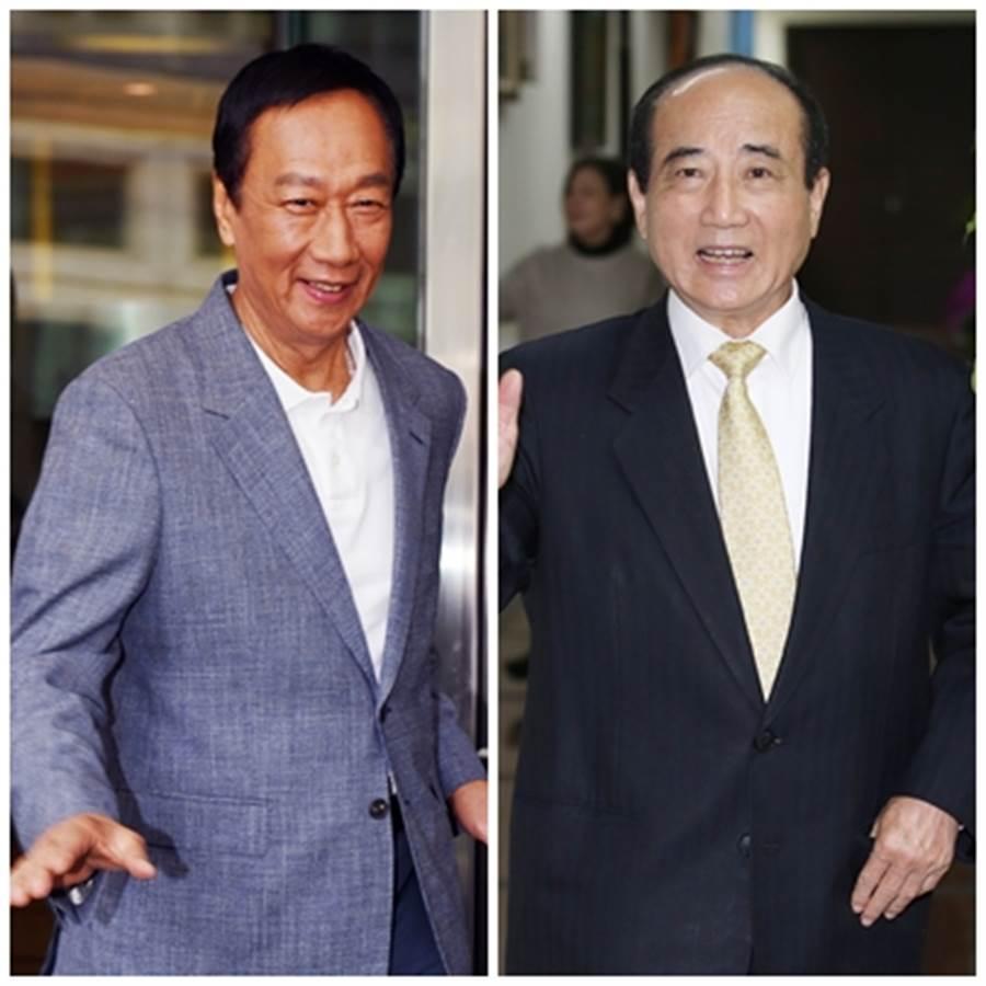王金平28万连署已达标 他说,郭王这两天将会谈谁正谁副