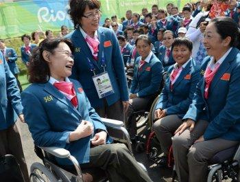 中國殘疾人體育的光榮與夢想