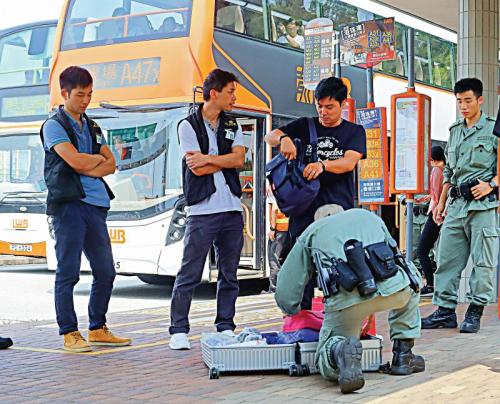 """香港警察成功瓦解""""和你塞3.0"""" 截搞事者防瘫机场"""