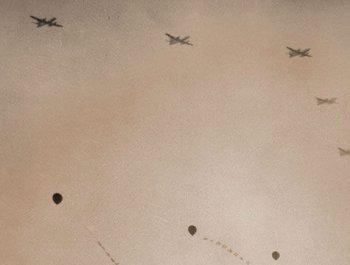 1957年国庆阅兵:我国制造的战斗机首次受阅
