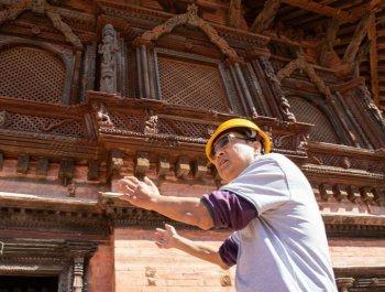 尼泊爾工藝家和中國文物修復師的歷史之約