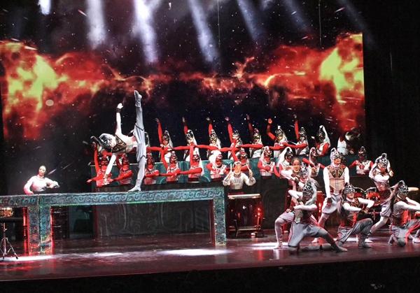 大型舞乐《中国故事・十二生肖》悉尼精彩演绎中国魅力(3)