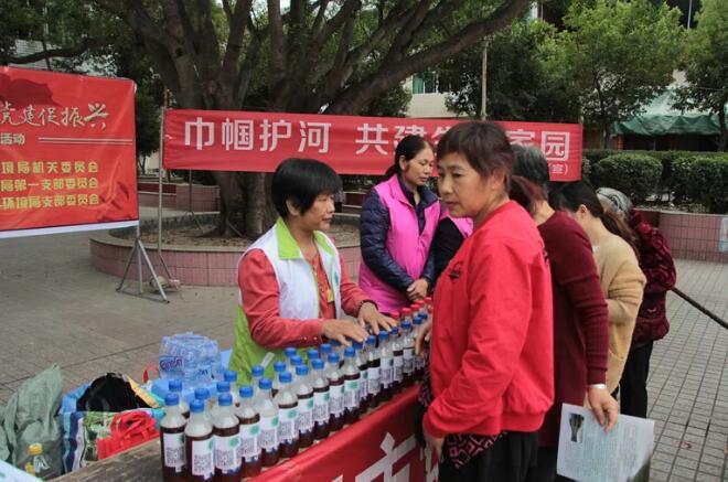 福建南平:垃圾分类+护河宣传 巾帼环保志愿服务活动进乡村