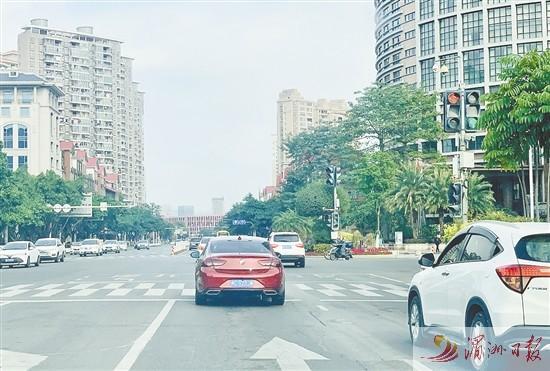 莆田市区2个路口红绿灯通行方式优化调整