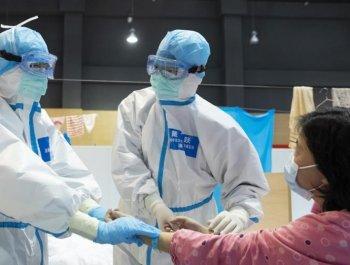 以中医治疗为主的武汉江夏方舱医院