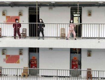 探訪武漢治愈出院患者隔離點