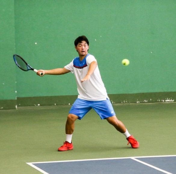 福建省运动队网球模拟测试赛在福州举行