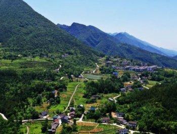 三峡库区村庄的华丽蝶变
