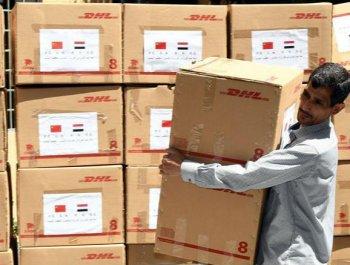 中国使馆向叙利亚捐赠防疫物资