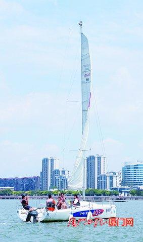 厦门五缘湾帆船旅游恢复运营