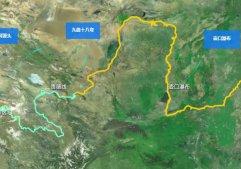 黃河的治水工程怎么樣?衛星上看看
