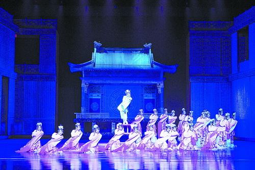 《【摩杰娱乐开户】两部大型原创舞剧本月精彩登鹭》