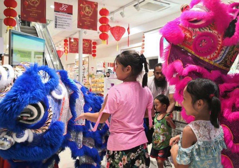 斐济商家庆祝中国元宵节