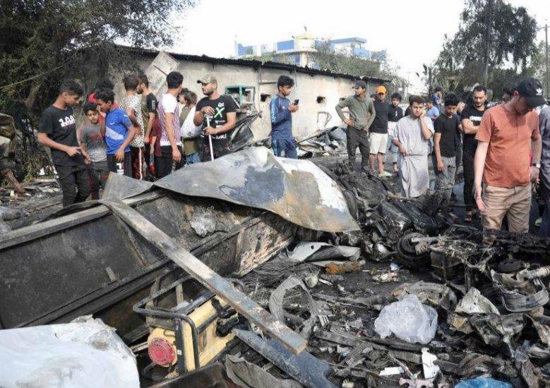 伊拉克首都发生一起汽车炸弹袭击致5死21伤