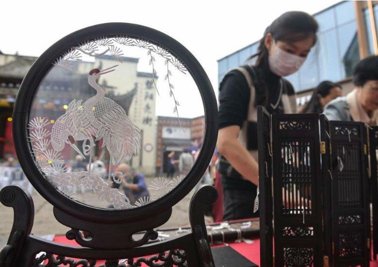 第五届中国非物质文化遗产传统技艺大展开幕